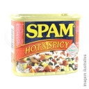 HORMEL SPAM HOT AND SPICY 340G ☆