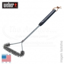 WEBER 3-SIDED GRILL BRUSH 53CM
