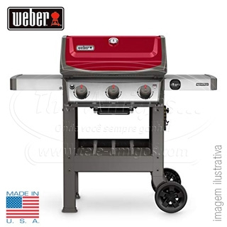 WEBER SPIRIT II E310 RED