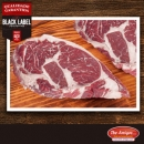 Black Label Premium Ribeye Roll Steak ± 450g