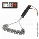 WEBER 3-SIDED GRILL BRUSH 30CM