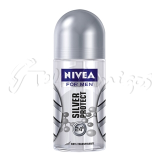 NIVEA MEN SILVER PROTECT DESODORANTE ROLL ON 50ML
