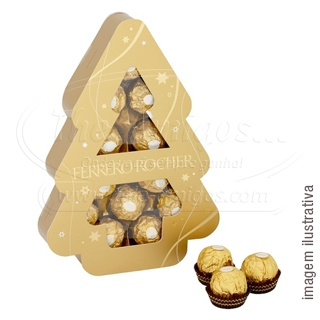 Chocolate Ferrero Rocher Tree 150G