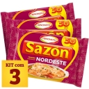 Kit Tempero Sabor do Nordeste Sazón - 60g x3