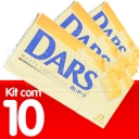 KIT Chocolate Branco Dars Morinaga - 45g x 10und