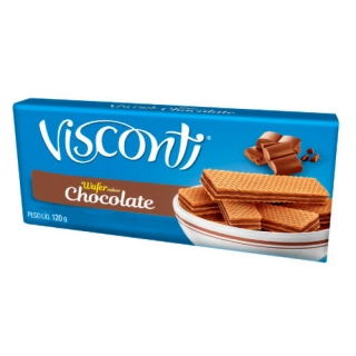 Wafer Chocolate Visconti 120 g New