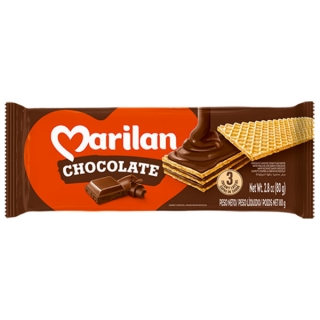 Wafer de Chocolate Marilan 115g