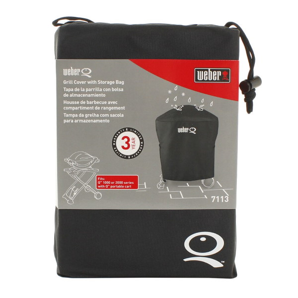 WEBER Q1000 Q2000 SERIE GRILL COVER