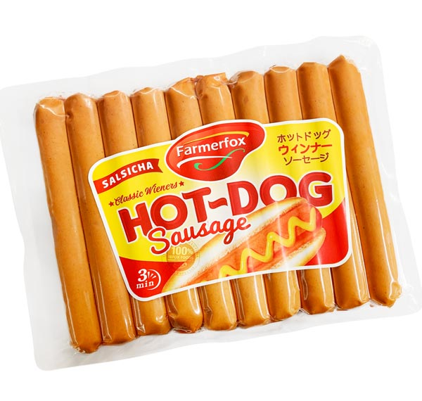 Salsicha Hot Dog Farmerfox 454g