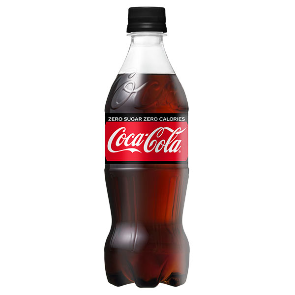 COCA-COLA ZERO PET500ML